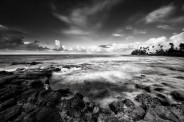 Kauai-Brenneckes-Beach-BW