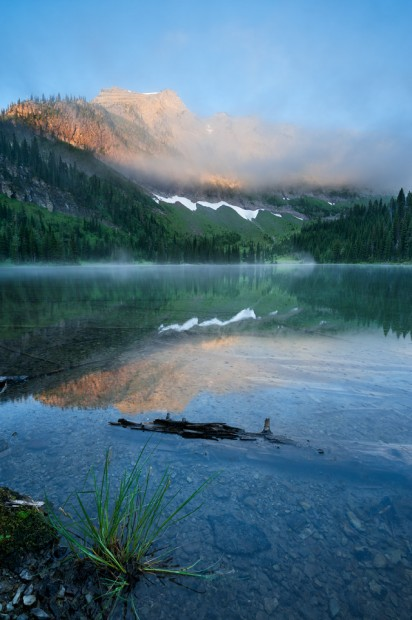 Sunrise at Lower Twin Lake