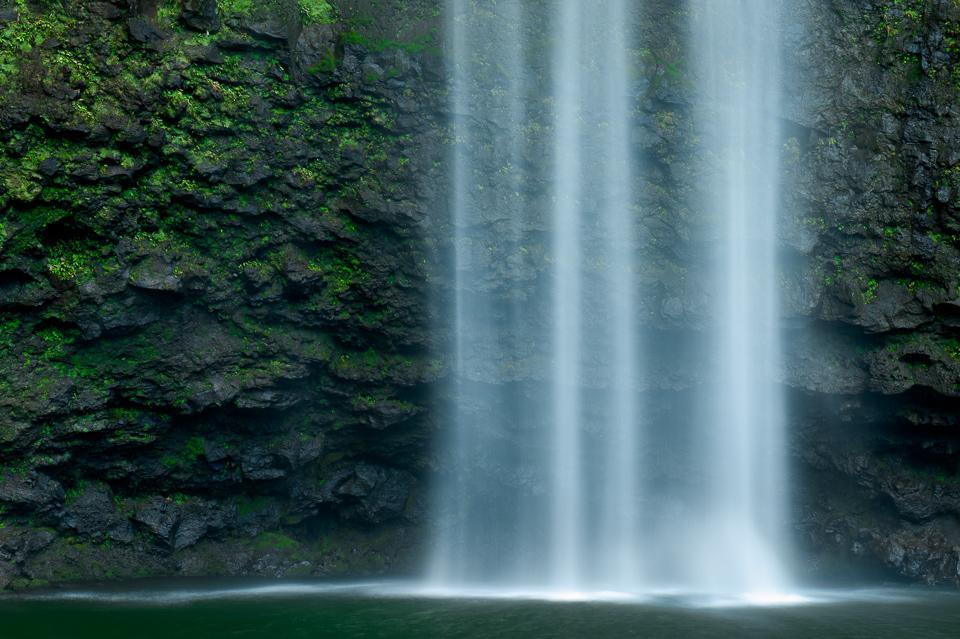 Hanakapi'ai Falls, NaPali Coast, Kauai, Hawaii