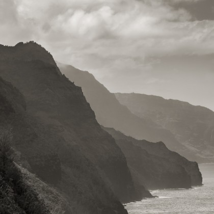 Kauai-Napali-Coast-BW