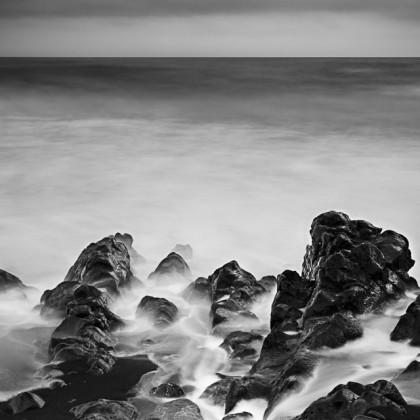Maui-Oheo-Gulch-Beach-BW