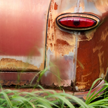 Old-Red-Car-Tail-Light