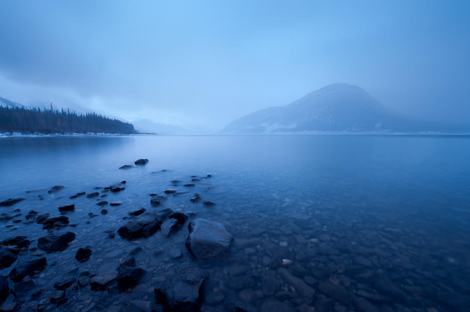 Spray-Lakes-Foggy