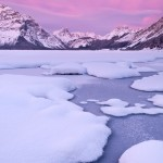 Upper-Kananaskis-Lake-Winter-Sunrise