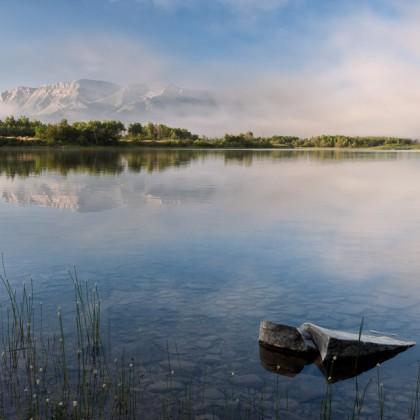 Waterton-Maskinonge-Lake-Sunrise-1