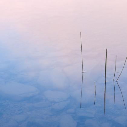 Waterton-Maskinonge-Lake-Sunrise-Reflection